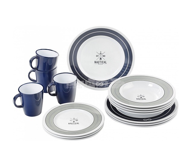 PIATTI NAUTICAL SET Brunner